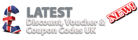 UK Coupon Codes, Discount Codes, Promotional Codes, Voucher Codes | Latest UK Discount Code