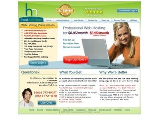 HostMonster - 45% Saving